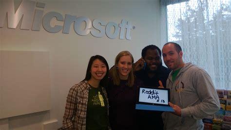 Microsoft Mba Careers by We Are Microsoft Recruiters Ausaa Iama
