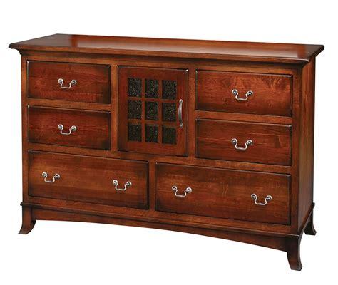 edinburg collection dresser without mirror amish valley