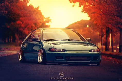 stanced honda stanced honda civic by sk1zzo on deviantart