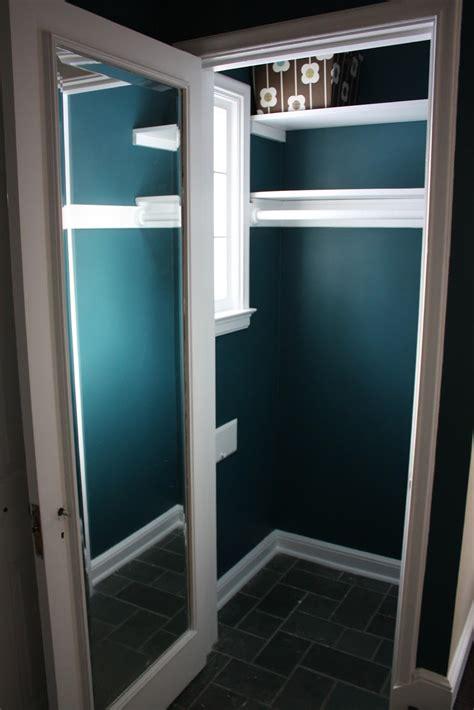 Paint For Closets russet reno coat closet painted
