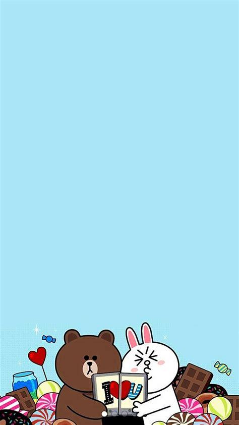 wallpaper iphone kartun 423 best line family images on pinterest line friends