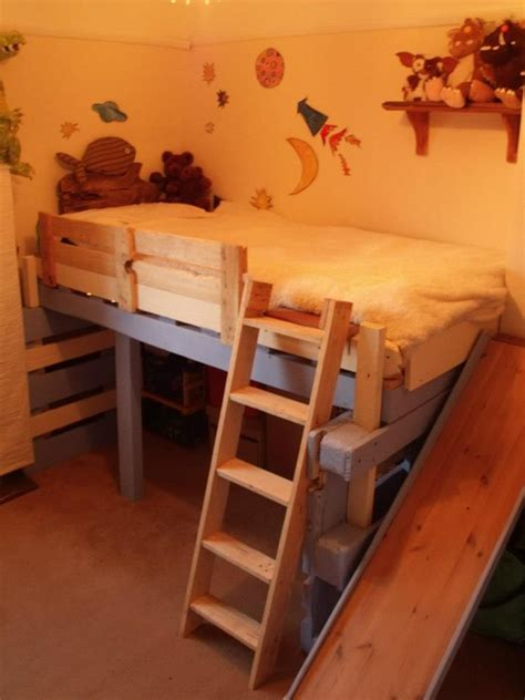 diy pallet captains bed salvaged bed for toddlers made with repurposed pallets pallet ideas caves anchors and toddlers