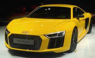 new cars plus auto expo 2016 audi r8 v10 plus launched in india ndtv