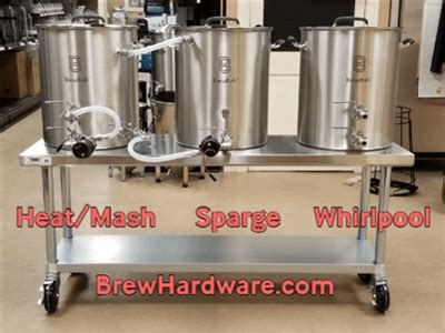 brewing system  vessel electric herms  gallon kettles