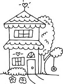 4844 X 6458 Png 276kB Two Story House Coloring Page  Free Clip Art sketch template