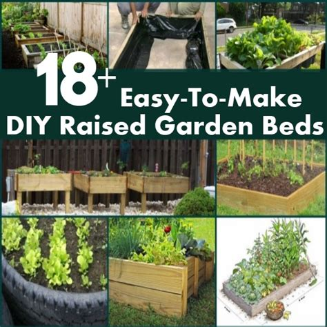 Easy Raised Garden Bed Ideas by 18 Easy To Make Raised Garden Beds Ideas Diy Home Things