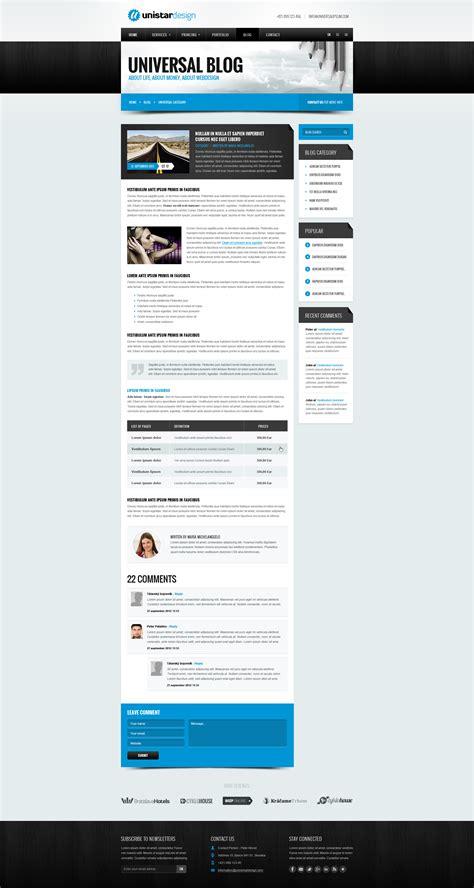 template joomla html5 unistar multipurpose responsive joomla template by