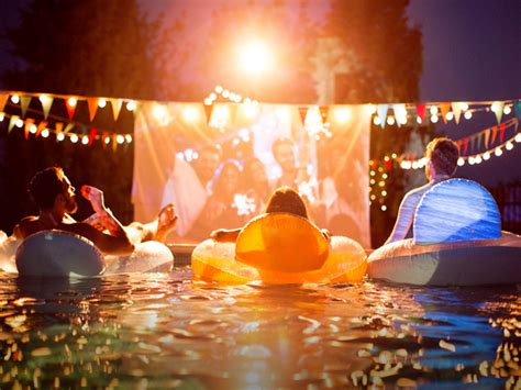 backyard movie night best projectors for outdoor movies mumtastic com