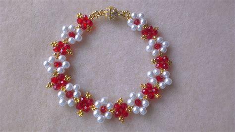 como hacer pulseras con perlas pulsera perlas y rondelles pearls and rondelles bracelet