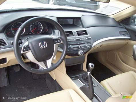 honda accord 2008 interior ivory interior 2008 honda accord ex l v6 coupe photo