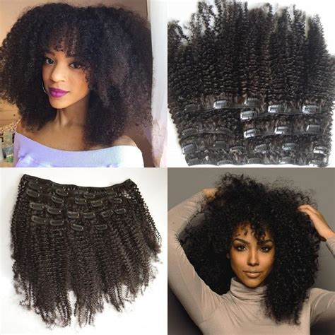 headband hair extensions for africans mongolian virgin hair african american afro kinky curly