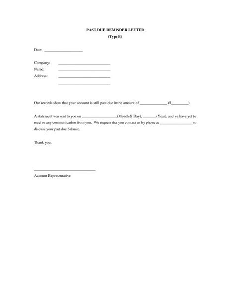 Business Overdue Payment Reminder Letter friendly payment reminder letter sles reminder letter