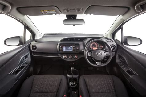 toyota yaris interior 2017 toyota yaris now on sale in australia from 15 290