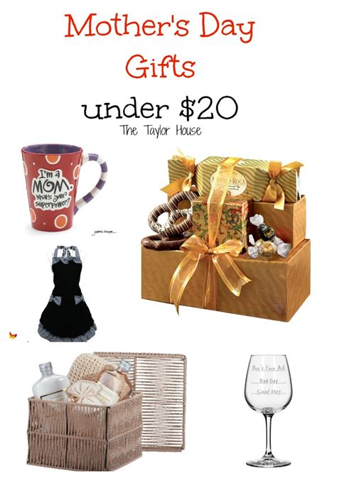 Mother's Day Gifts Under $20   The Taylor House