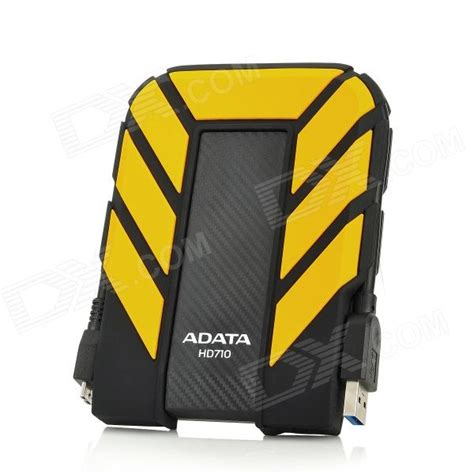Hardisk External Adata adata hd710 2 5 quot usb 3 0 external mobile hdd disk drive storage device yellow 500gb