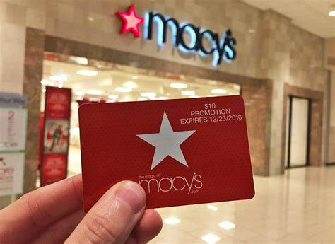 Macys Discount Gift Card - free 10 macy s gift card giveaway tomorrow friday