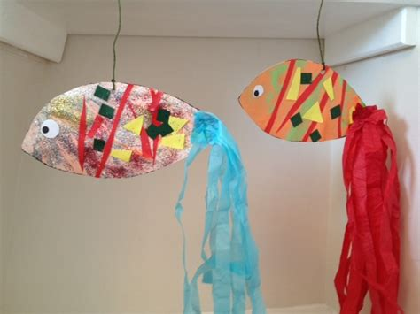 sea crafts for fanciful fish my kid craft