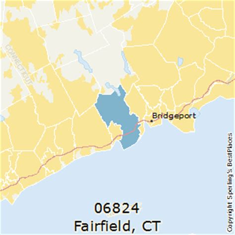 zip code map ct best places to live in fairfield zip 06824 connecticut