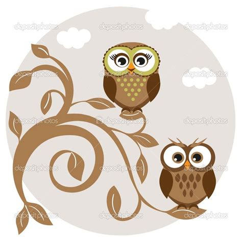 Catalog Request Pottery Barn Cute Owl Drawings Cute Owls Couple On The Tree Stock