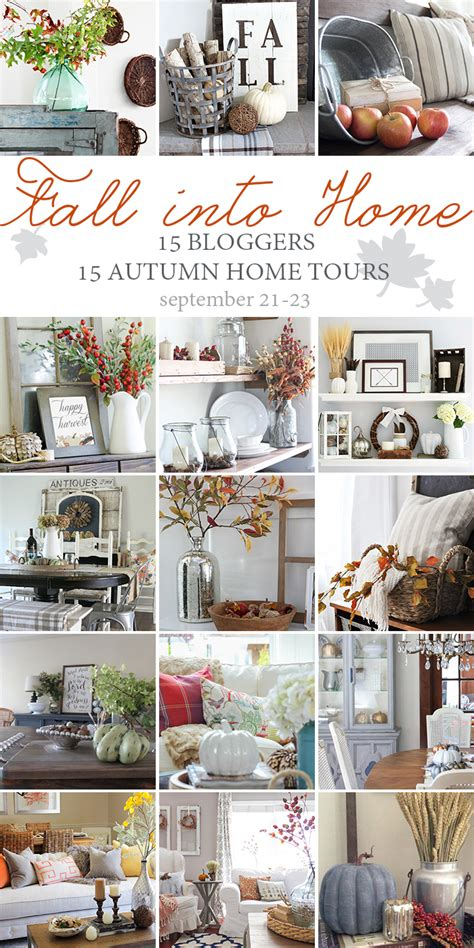 fall into home tour the blissful bee