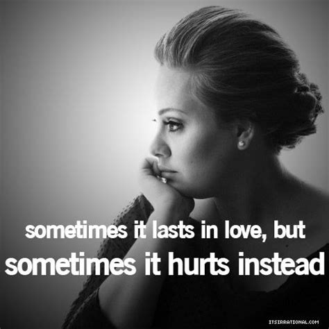 qoutes by adele best adele quotes sayings love hurt quotes