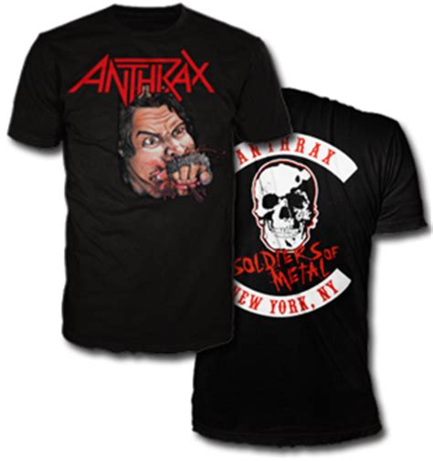 Hoodie Anthrax Worship Metal High Quality apparel anthrax store