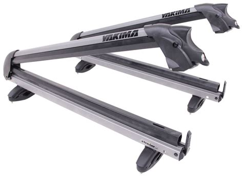 yakima big powderhound roof mounted locking ski and