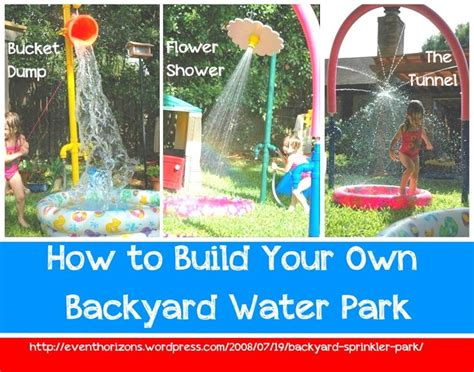 how to make your backyard fun 17 best ideas about backyard water parks on pinterest