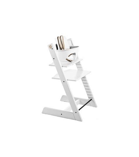 White Tripp Trapp Chair by Stokke Tripp Trapp High Chair White
