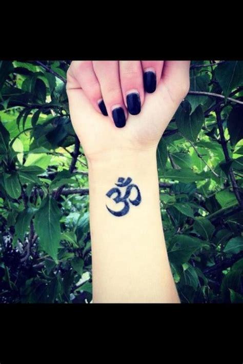 om wrist tattoo 46 om on wrists