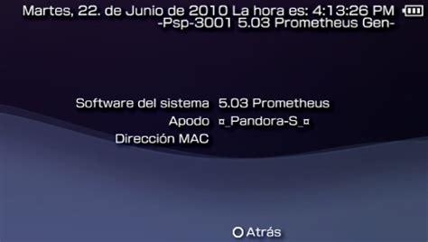 custom firmware 550 prometheus 4 psp youtube parche custom firmware 5 03 prometheus psp scenebeta com
