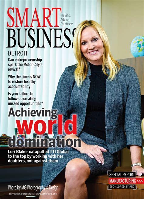 photo cover image smart business detroit magazine