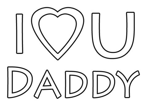 coloring pages i love you daddy i love you daddy coloring page happy father s day