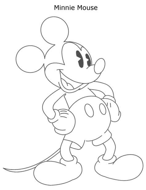 minnie mouse face coloring pages az coloring pages