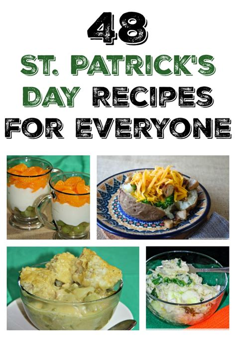 st s day recipes from ireland 48 st s day recipes for everyone the mount 6 pack