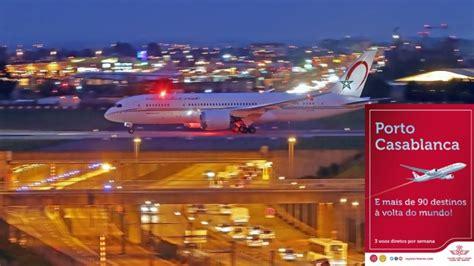 porto casablanca viajar porto casablanca agora 3 voos semanais