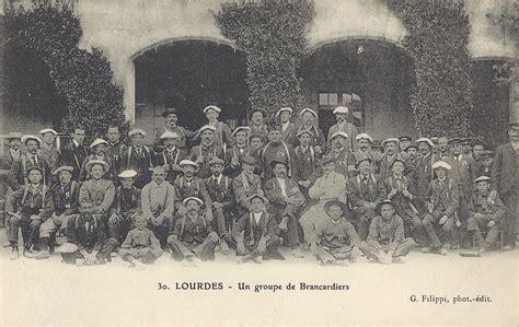 filippi lade lourdes brancardiers procession malades lourdes