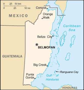 geography for kids: belize