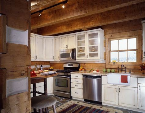 cabin kitchen ideas log cabin kitchen kitchen ideas