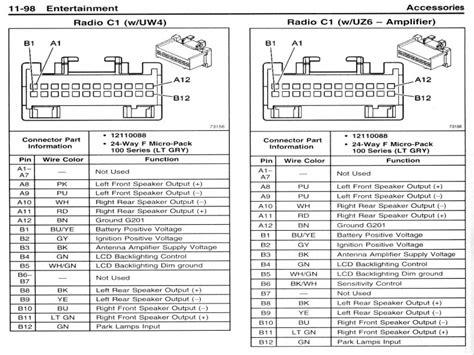pontiac grand  radio wiring wiring forums