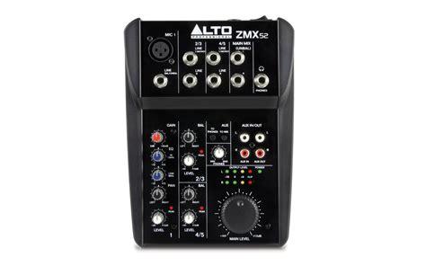 Mixer Alto Zmx 862 alto professional zmx series gt zmx52