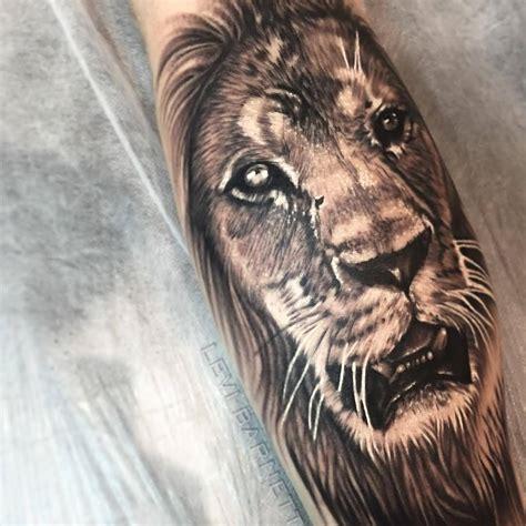 cool lion tattoo designs popular arm tattoos designs