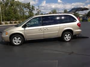 Gold Dodge Caravan Handicap Vans Used Wheechair Vans Wheelchair Vans Buffalo