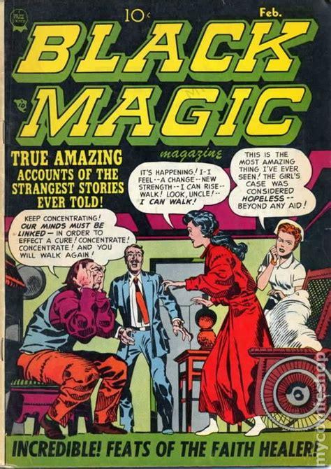 of magic realm of magic volume 3 books black magic vol 2 1951 comic books