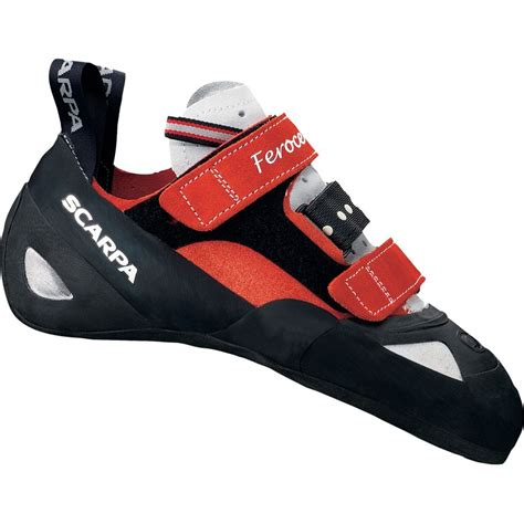 rock climbing shoes on sale scarpa feroce climbing shoe vibram xs grip2