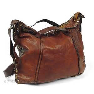 Handmade Leather Shoulder Bag - the new comaggi doria studded leather bag defenders