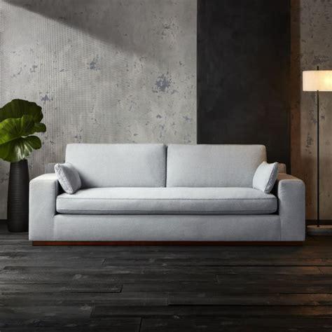 grey and teal sofa kihon indigo sofa cb2
