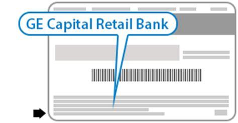 ge capital bank cardholder agreement