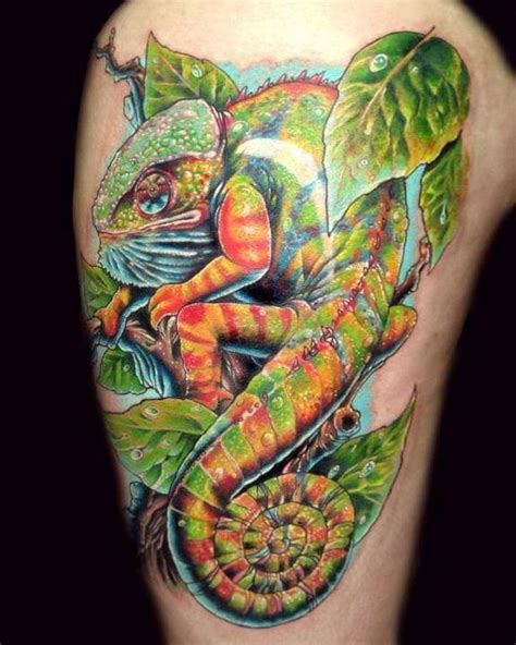 chameleon tattoo 63 best ink images on chameleon