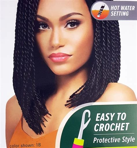 hot water braided hair nigeria women on outre x pression braid senegalese twist small 10
